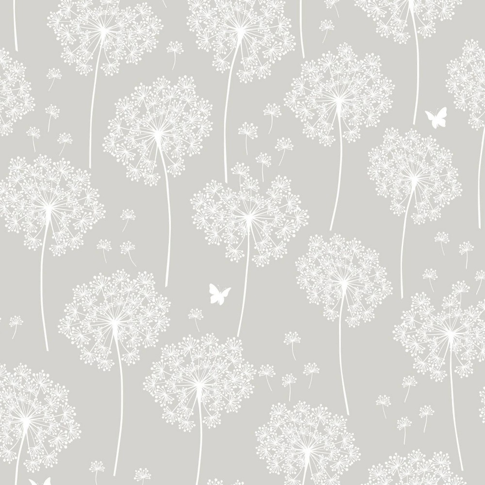 Upc 091212169364 Dandelion Taupe Peel And Stick Wallpaper