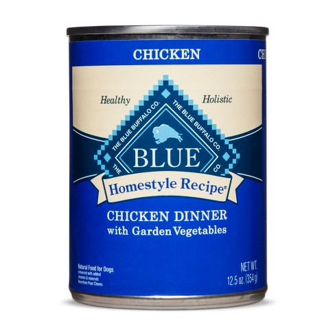 Blue Buffalo Homestyle Recipe Chicken & Brown Rice Dinner - Wet Dog Food - 12.5oz - image 1 of 2