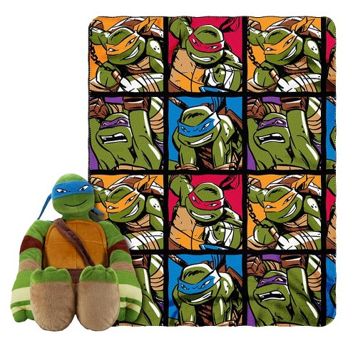 "Teenage Mutant Ninja Turtles® Warrior Spirit Hugger & Throw - 46"" x 50"" - image 1 of 1"