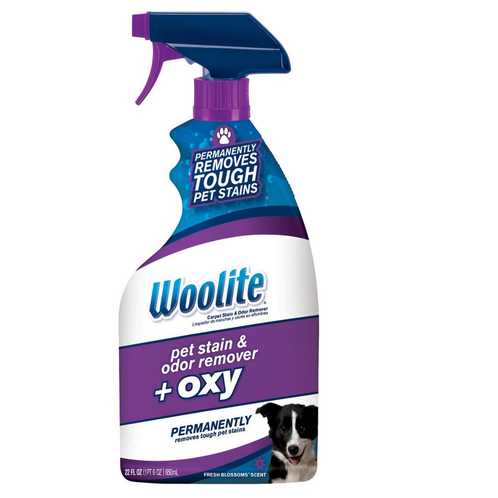 Woolite Carpet Pet Stain & Odor + Oxy, Blue