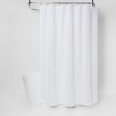Woven Shower Curtain White - Threshold™