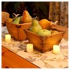 12ct Amber Battery Operated LED Votive Candles - image 3 of 4