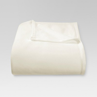 Microplush Bed Blanket Twin Sour Cream - Threshold™