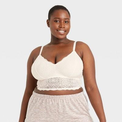 Women's Plus Size Lace Bralette - Colsie™