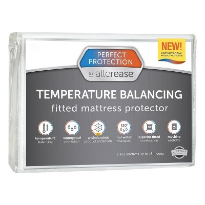 Perfect Protection Temperature Regulating Mattress Protector - Allerease