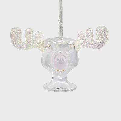 Hallmark National Lampoon Christmas Vacation Glass Moose Mug Christmas Tree Ornament