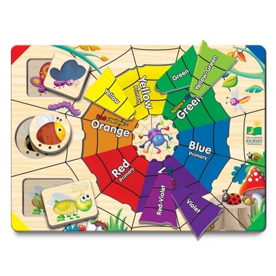The Learning Journey Lift & Learn Puzzle Color Web