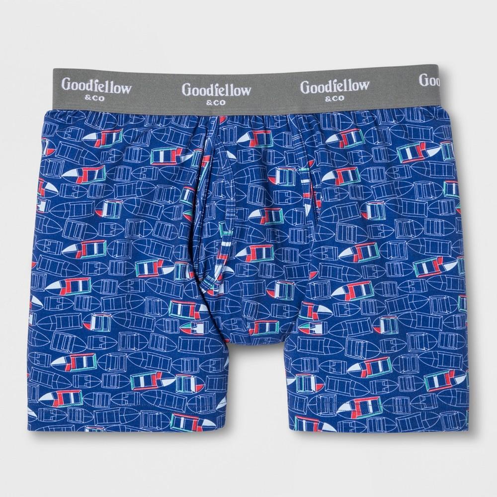 Men's Boxer Briefs - Goodfellow & Co Parish Blue XL