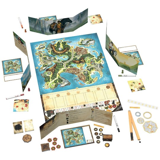 Matagot Treasure Island Board Game image number null