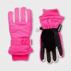 Girls' Solid Promo SKI Gloves - C9 Champion® Pink