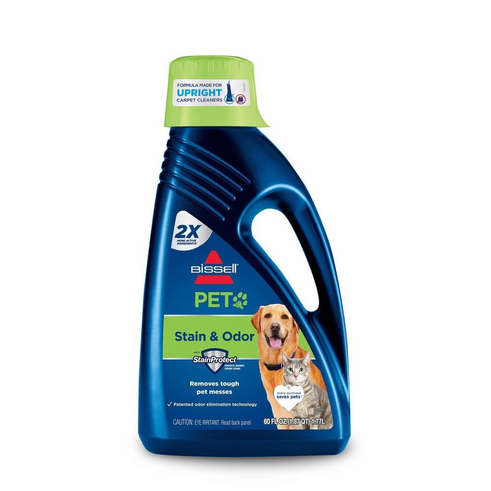 Image of BISSELL 2X Pet Stain & Odor 60oz. Upright Carpet Cleaner Formula - 99K52