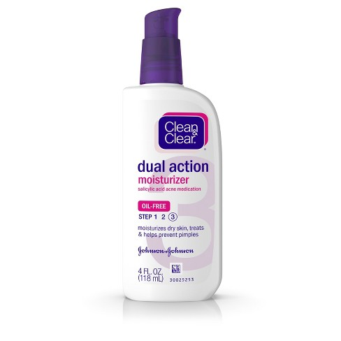 Clean & Clear Essentials Dual Action Facial Moisturizer - 4 fl oz - image 1 of 8