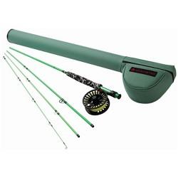 Redington 580-4 MINNOW Kids Youth 5 WT 8 Foot 4 PC Fly Fishing Rod & Reel Combo