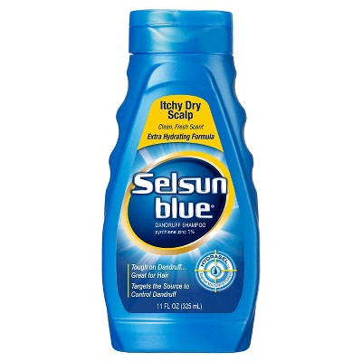 Selsun Blue Itchy Dry Scalp