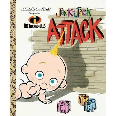 JACK-JACK ATTACK - LGB - by Disney (Hardcover)
