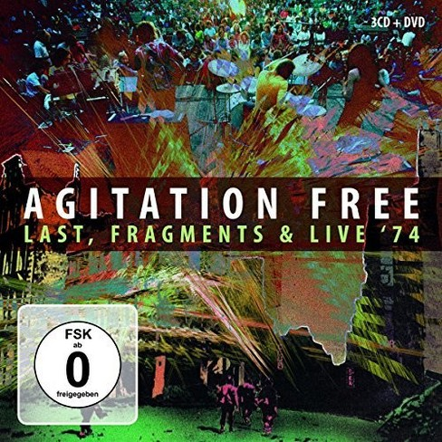 Agitation Free - Last Fragments & Live '74 (CD) - image 1 of 1