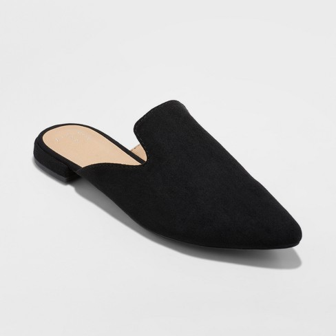 Women's Velma Slip On Pointy Toe Mules - A New Day™ - image 1 of 3