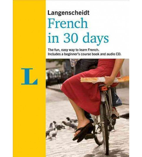 French in 30 Days (Paperback) (Langenscheidt) - image 1 of 1