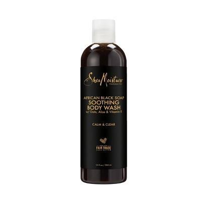 SheaMoisture African Black Soap Soothing Body Wash - 13oz
