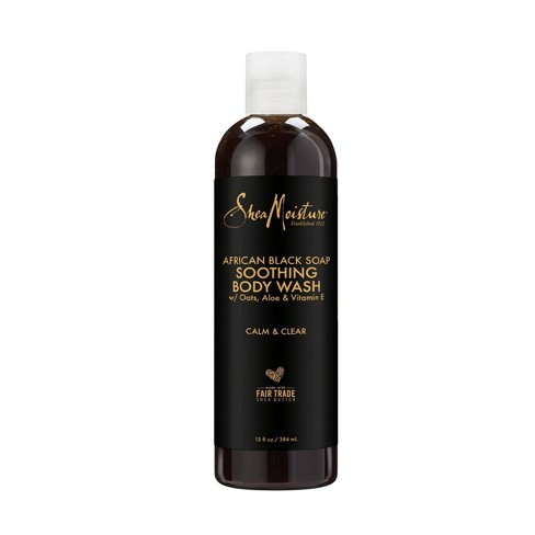 SheaMoisture African Black Soap Soothing Body Wash - 13oz - image 1 of 3