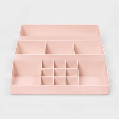 Makeup Organizer Peach - Room Essentials™