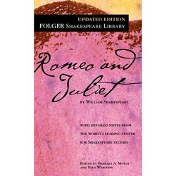 The Tragedy of Romeo and Juliet - (Folger Shakespeare Library) by  William Shakespeare (Hardcover)