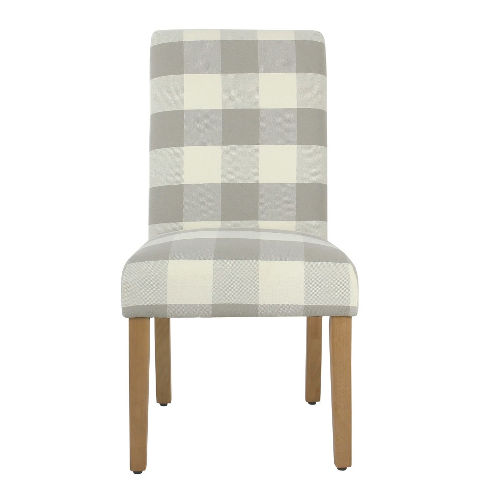 Set of 2 Parsons Dining Chair Gray - Homepop was $279.99 now $209.99 (25.0% off)