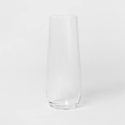 9oz 4pk Glass Stemless Champagne Glasses - Threshold™