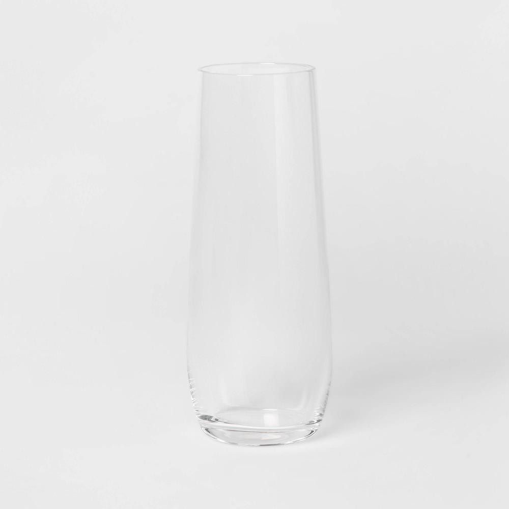9oz 4pk Glass Stemless Champagne Glasses Threshold 8482