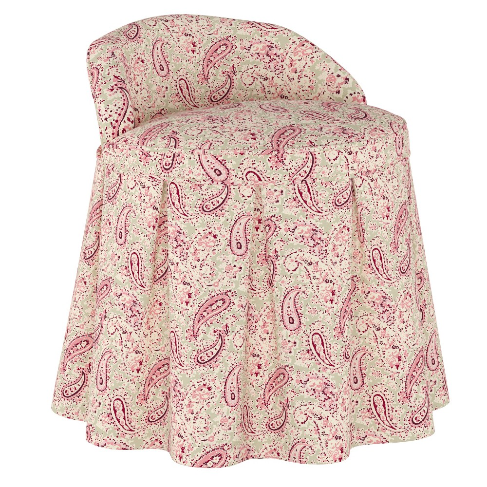 Kids Chair Paisley Red - Simply Shabby Chic