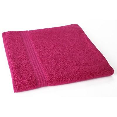 Lakeside Oversized Zero Twist Cotton Terry Bath and Pool Towel