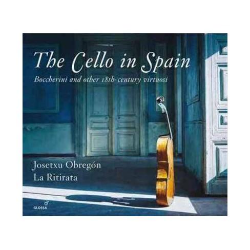 Josetxu Obregon - Cello in Spain (CD) - image 1 of 1