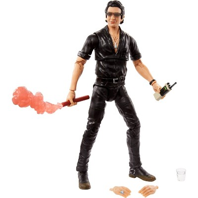 Jurassic World Amber Collection Dr. Ian Malcolm Figure