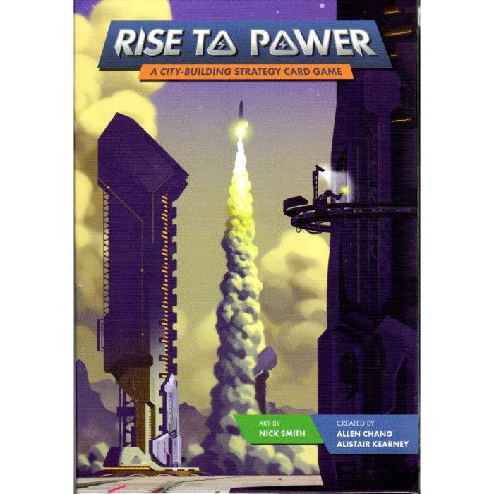 Rise to Power - A City-Building Strategy Card Game Board Game - image 1 of 1