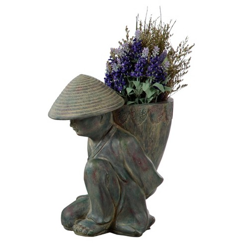 Novelty Humble Planter - Gray - Bombay® Outdoors - image 1 of 5
