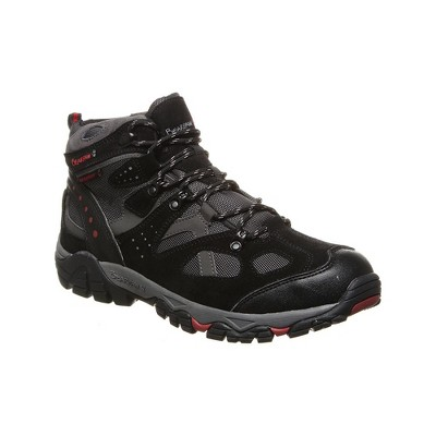 Bearpaw Men's Brock Wide Apparel Hiking Shoes | Black/Gray | Black | Size 13.0