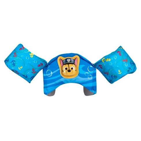 PAW Patrol Sea Squirts Swim Trainer Life Jacket 3D Licensed Chase - image 1 of 2