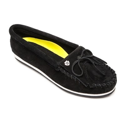 Minnetonka Women's Suede Kilty Plus Slip On