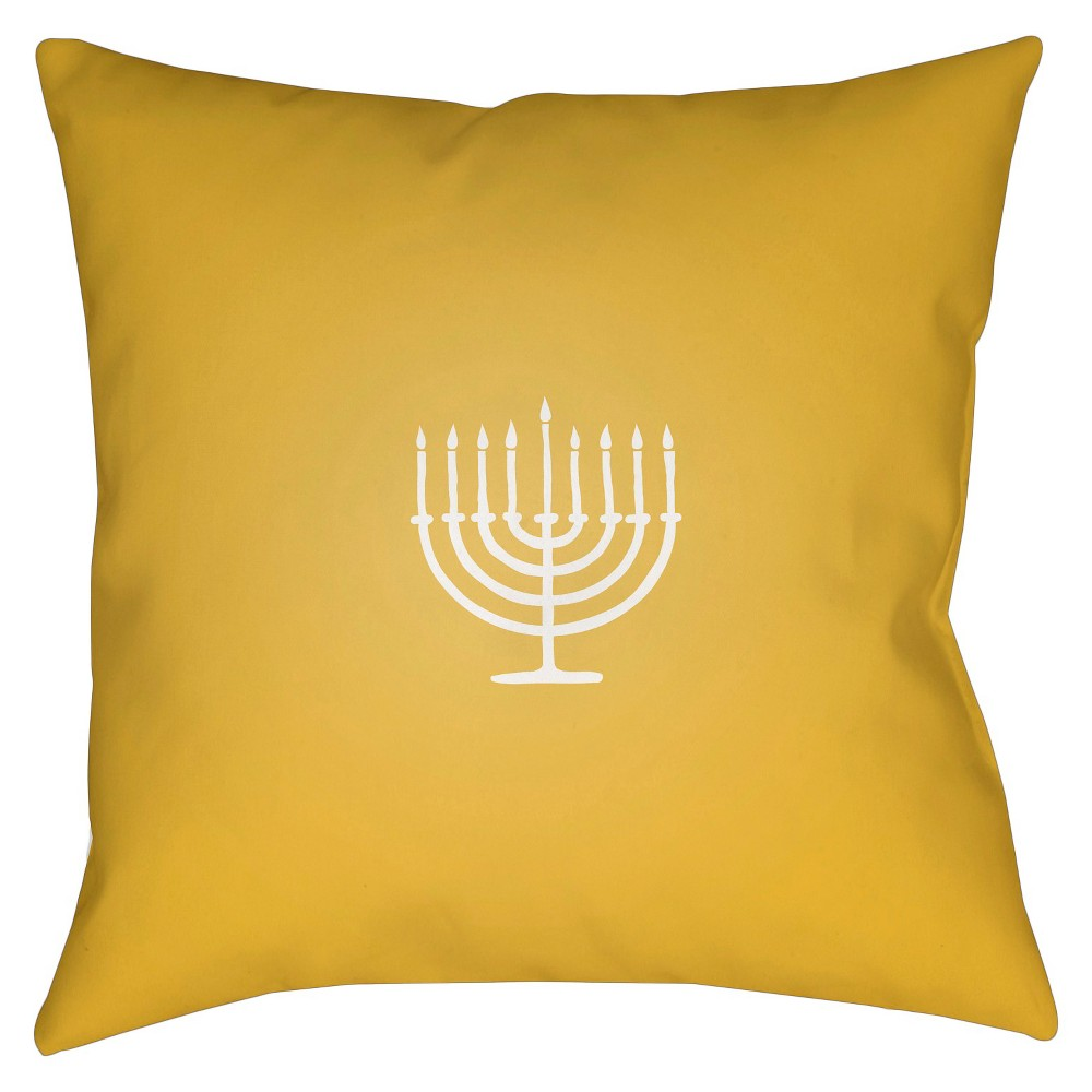 Gold Festival of Lights Throw Pillow 20