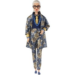 Barbie Collector Styled by Iris Apfel Doll with Floral Suit