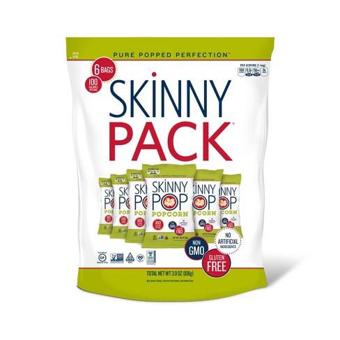 SkinnyPop Original Popcorn Skinny Pack - 6ct - 3.9oz - image 1 of 3