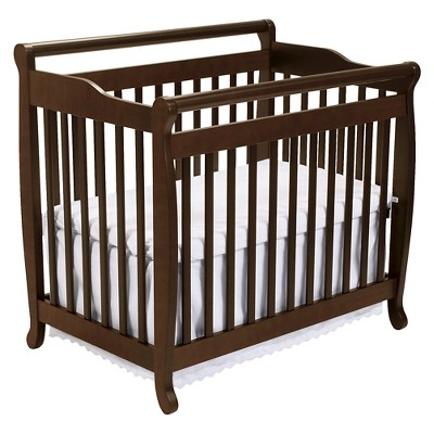 DaVinci Emily 2-in-1 Mini Crib and Twin Bed - Espresso