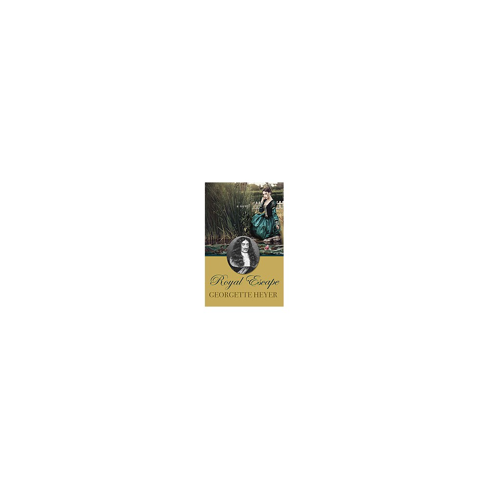 Royal Escape (Large Print) (Hardcover) (Georgette Heyer)