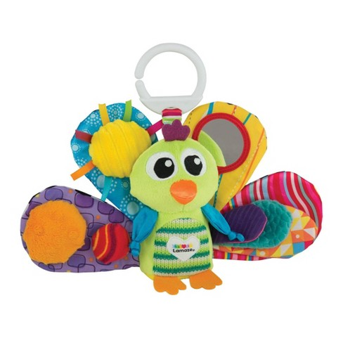 Lamaze Clip & Go Jacques the Peacock Sensory Development Baby Toy - image 1 of 4