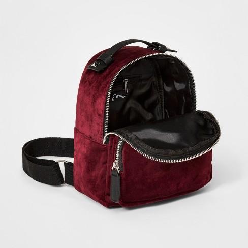 58684f68c Girls' Velvet Mini Backpack - Art Class™ Red : Target