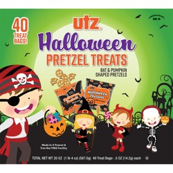 Utz Halloween Pretzel Treats - 40ct