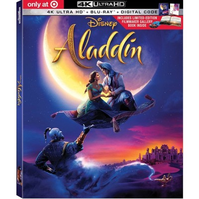 Aladdin (Live Action) (Target Exclusive) (4 K/Uhd) by Disney