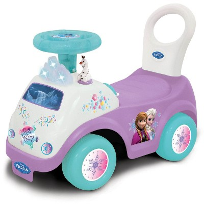 Kiddieland Girls Disney My First Frozen Toddler Activity Ride-On Push Car