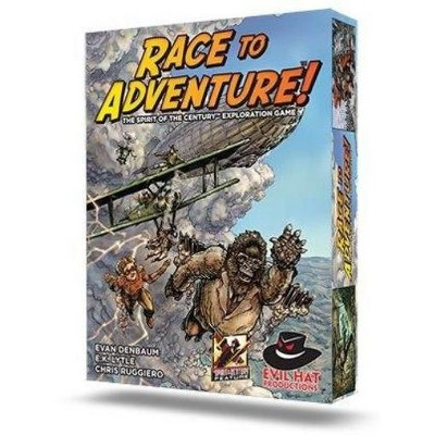 Race to Adventure! - The Spirit of the Century Exploration Game Board Game