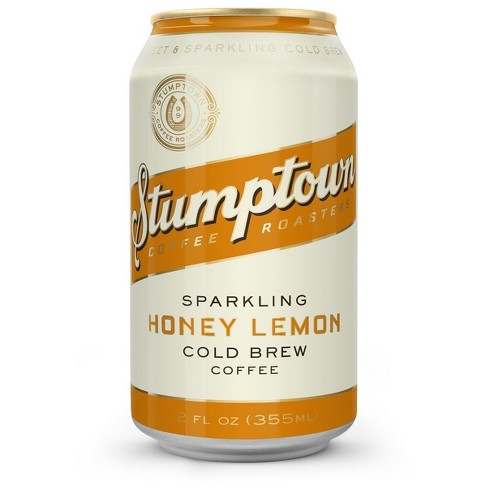 Stumptown Sparkling Honey Lemon Cold Brew Coffee - 12 fl oz - image 1 of 2